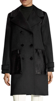 Zac Posen Hawthorne Wool Coat