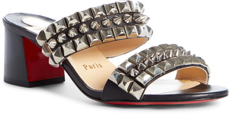 Christian Louboutin Tina Goes Mad Studded Sandal