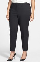Sejour Plus Size Women's Stretch Ankle Pants