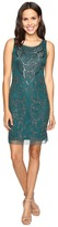 Adrianna Papell Sleeveless Shift Short Dress
