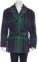 Polo Ralph Lauren Wool Plaid Coat