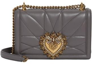Dolce & Gabbana Leather Devotion Shoulder Bag