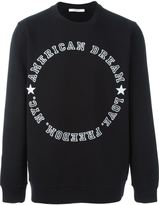 Givenchy American dream printed sweatshirt