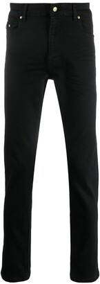 Versace Mid-Rise Slim-Fit Jeans