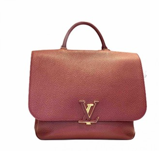 Louis Vuitton Volta Burgundy Leather Handbags