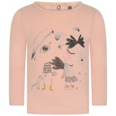 Catimini CatiminiCatimini Baby Girls Pink Animal Print Top