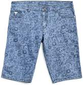 GUESS Floral Denim Shorts (8-20)