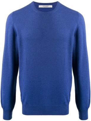 D'aniello La Fileria For fine knit round neck jumper