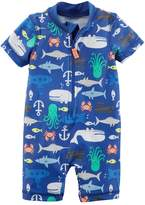 Carter's Baby Boy Sea Creature One-Piece Swimsuit