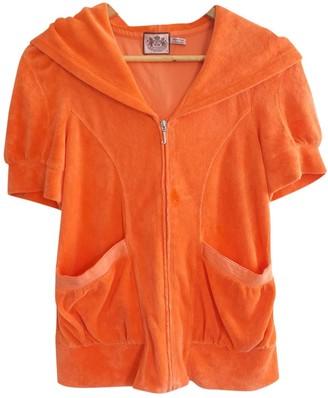Juicy Couture Orange Cotton Jacket for Women