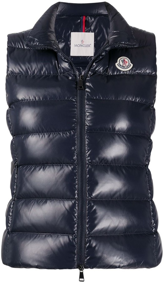Moncler Logo-Patch Padded Gilet