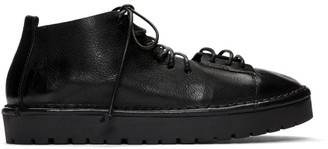 Marsèll Black Gomme Sancrispa Alta Pedula Oxfords