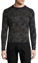 Michael Bastian Panda Camouflage Wool Sweater