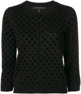 Marc Jacobs polka dot cardigan - women - Nylon/Wool - L
