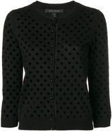 Marc Jacobs polka dot cardigan - women - Nylon/Wool - XS