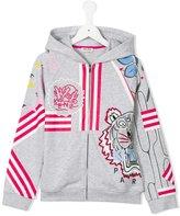 Kenzo Tiger print sweatshirt - kids - Cotton - 2 yrs