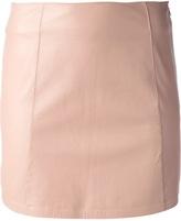 Alexander Wang lambskin mini skirt