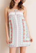 Entro Feminine Floral Dress
