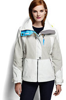 Lands' End Women's Squall Sailing Jacket-Rich Red
