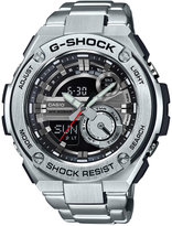 G-Shock Men's Analog-Digital Silver-Tone Stainless Steel 59x52mm GST210D-1A