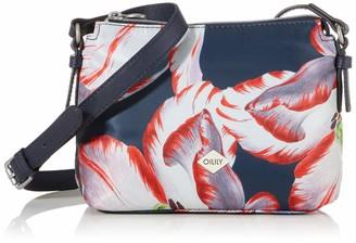 Oilily Shz 3 Women's Picnic Shoulder Bag 9 x 18 x 21 cm Blue Size: One size