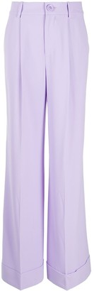 Alice + Olivia Tomasa wide-leg trousers