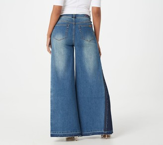 Peace Love World Tall Super Wide Leg Jeans