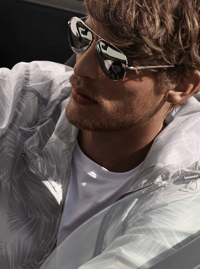 Michael Kors Palm Mesh Jacket