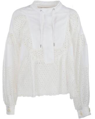 Sacai Dot Lace Shirt