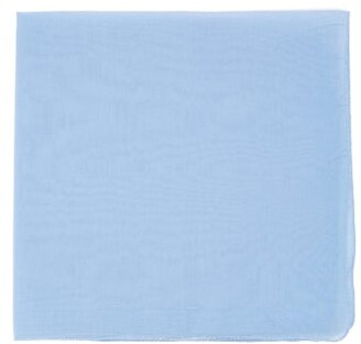 Lisa Corti - Set Of 12 Cotton-gauze Napkins - Light Blue