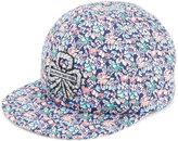 Maison Michel floral print cap