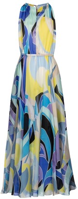 Emilio Pucci Beach Printed silk maxi dress