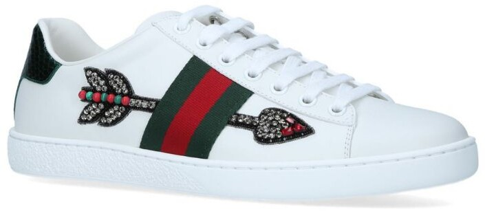 Gucci Arrow Ace Sneakers - ShopStyle