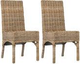 Safavieh Woven Murphy Side Chairs, Pair