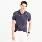 J.Crew Tall classic piqué polo shirt in wide stripe