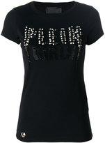 Philipp Plein Hardcore Girl T-shirt - women - Cotton/glass - S