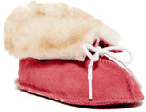 Minnetonka Suede Genuine Sheepskin Bootie (Baby & Toddler)