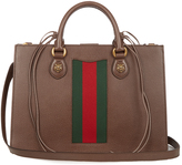 Gucci Animalier grained-leather tote