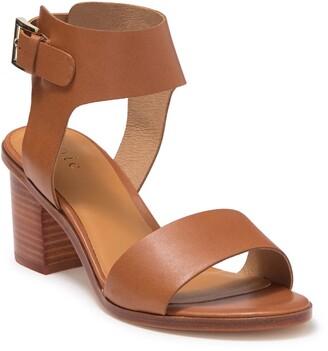 Joie Bea Leather Block Heel Sandal