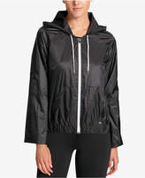 DKNY Sport Hooded Windbreaker Jacket