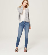 LOFT Petite Modern High Waist Skinny Ankle Jeans in Mid Vintage Wash