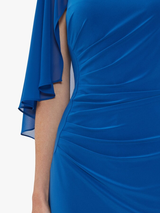 Thumbnail for your product : Gina Bacconi Jarielle Jersey Cape Sleeve Dress