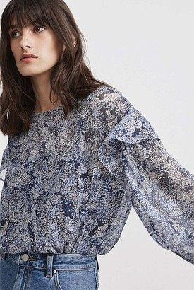 Witchery Print Yoryu Blouse