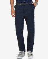 Nautica Men's Slim Fit Flat-Front Marina Chinos