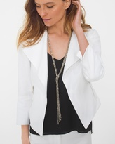White House Black Market Knotted Y-Chain Necklace
