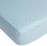CoCalo Dotted Fitted Crib Sheet