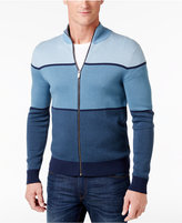 Michael Kors Men's Colorblocked Supima Cotton Sweater, Only at Macy's