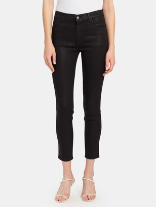 J Brand Alana High Rise Cropped Super Skinny Jeans