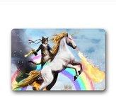 Shirley's Door Mats Special Design Custom Cat Unicorn Rainbow Gun Deagle Rambo Doormat Rug Cover Pad Outdoor Indoor 15.7-Inch By 23.6-Inch