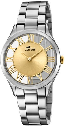 Lotus Womens Analogue Quartz Watch with Stainless Steel Strap 18395/2
